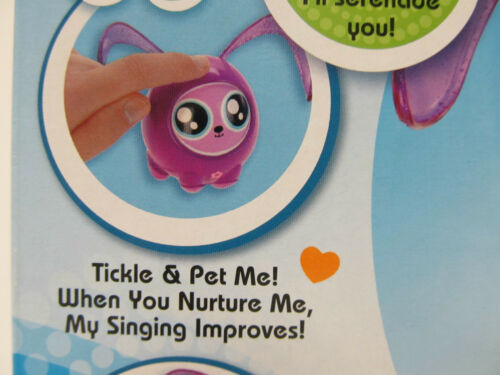 """Ages 6 /& up Purrs /& Giggles PURPLE Fijit Friends Newbies /""""TIKA/"""" She Sings"""