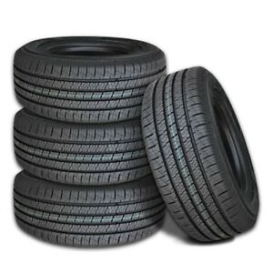 4 Lexani LXHT-206 P245/65R17 105T SUV/Truck Premium Highway All Season M+S Tires