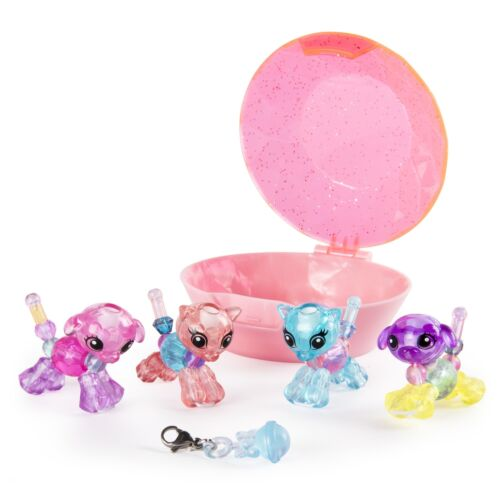Twisty Petz Babies 4-Pack Kitties and Puppies Collectible Bracelet Set for Kids