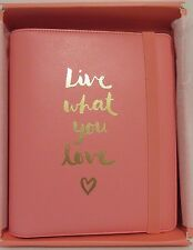 New! Kikki K  2016 Large Watermelon Personal Leather Planner Live What You Love