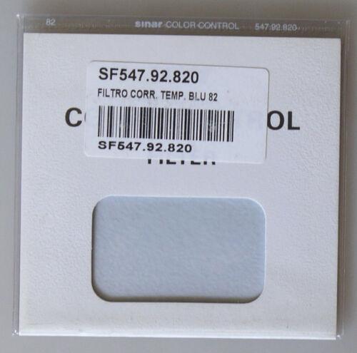 PRL) SINAR COLOR CONTROL 82 BLU FILTRO FILTRE FILTER SF547.92.820 NEW