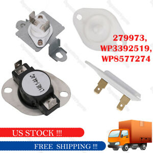 Details about FITS FOR Whirlpool Duet Dryer Thermostat Fuses Free Shipping