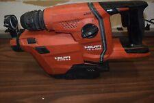 Hilti Concrete Drill Amp Vacuum Cordless Te 6 A22 Te Drs 6 A Working
