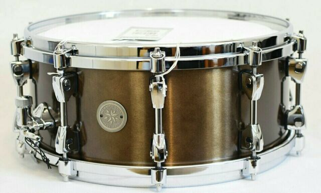 "Tama pbb146 Starphonic SNAREDRUM Bell Brass 14"" x 6"" showroom modello/espositori"