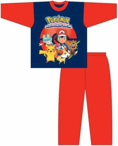 Boys Official Pokemon Gotta Catch /'Em All Character Pyjamas
