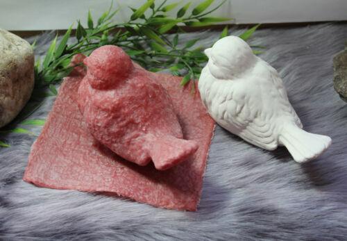 Puzzles Latex Moule Moule Béton Cire Pour Béton Plâtre Oiseau 01