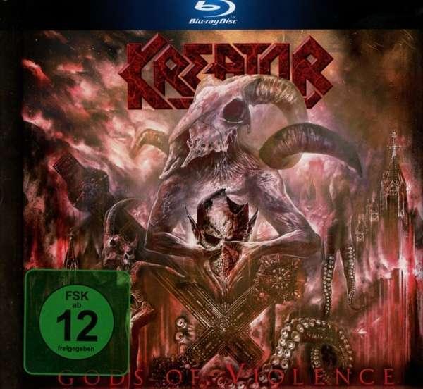 Kreator - Gods Of Violence Blu-Ray Nuevo