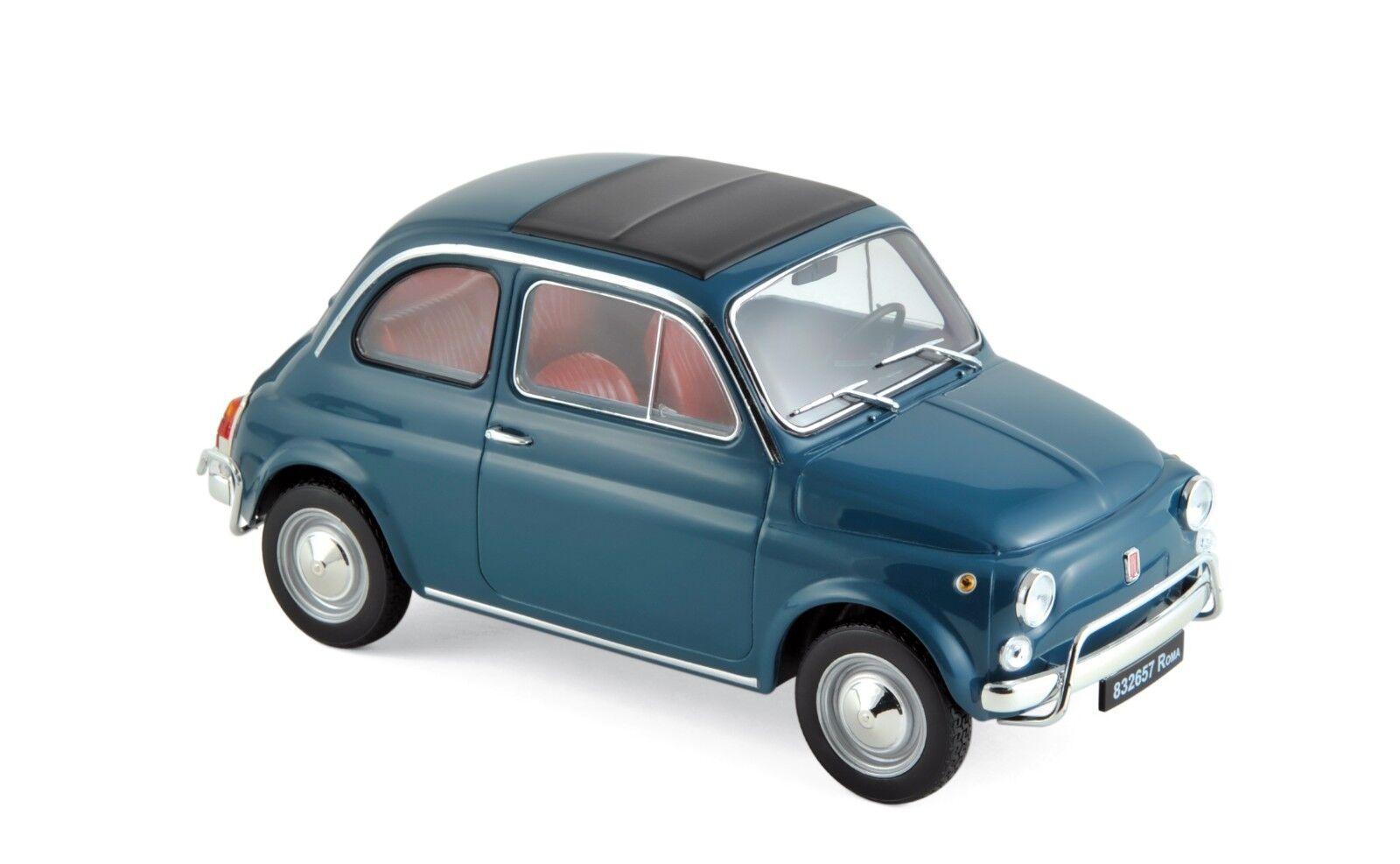 Noël, envoie de la la la joie NOREV 187770 Fiat 500 L 1968 Blue  1/18 | Prix D'aubaine  c1a0ad