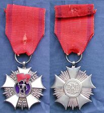 CROC CROSS POLONIA POLAND POLISH - ORDER OF FLAG OF WORK ORDEN SZTANDARU PRACY