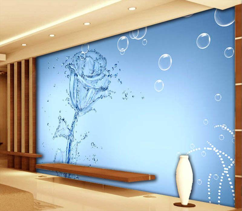 Drop Of Water 3D Full Wall Mural Photo Wallpaper Printing Home Kids Decoration