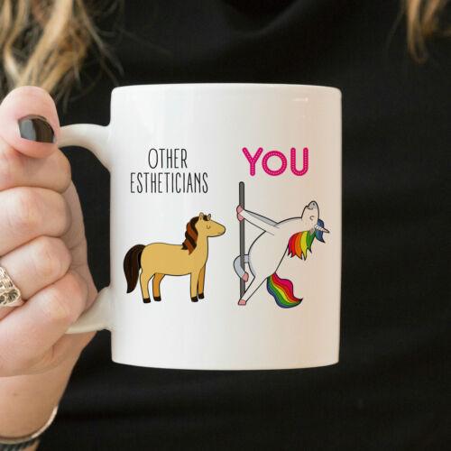 Esthetician Mug Funny Esthetician Gift Esthetician Thank You Coffee Mug