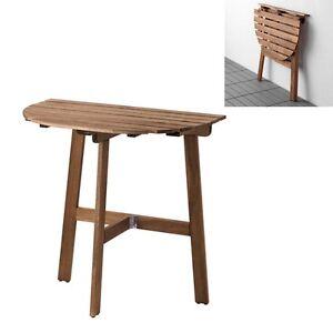 ikea askholmen balcony table folding table patio porch. Black Bedroom Furniture Sets. Home Design Ideas
