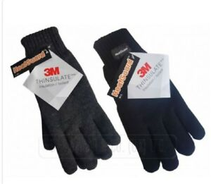 Thinsulate™ 3M™ Knitted Warm Full Finger Gloves Winter Woolly Acrylic Mitts