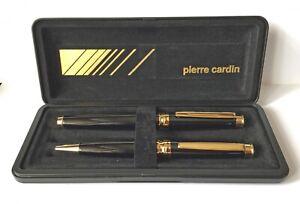 Expressif Boxed And Unused Pierre Cardin Fountain Pen & Biro êTre Hautement Loué Et AppréCié Par Le Public Consommateur