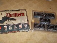 BEST OF THRILLERS AUDIO BOOK COLLECTION 5 BOOKS ON 10 CASSETTES - MISSING 2