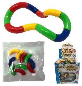 NEW Tangle Twist Fidget Shape Educational Toy ADHD Autism Sensory