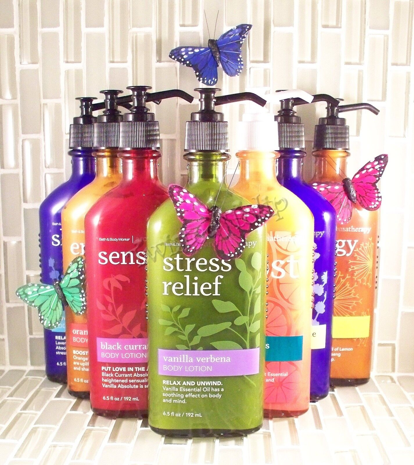 3 Bath Body Works Aromatherapy Boost Tangelo Woods Cream Bubble Foam Pure Peppermint Essential Oil Pink Lotus Lotion Ebay