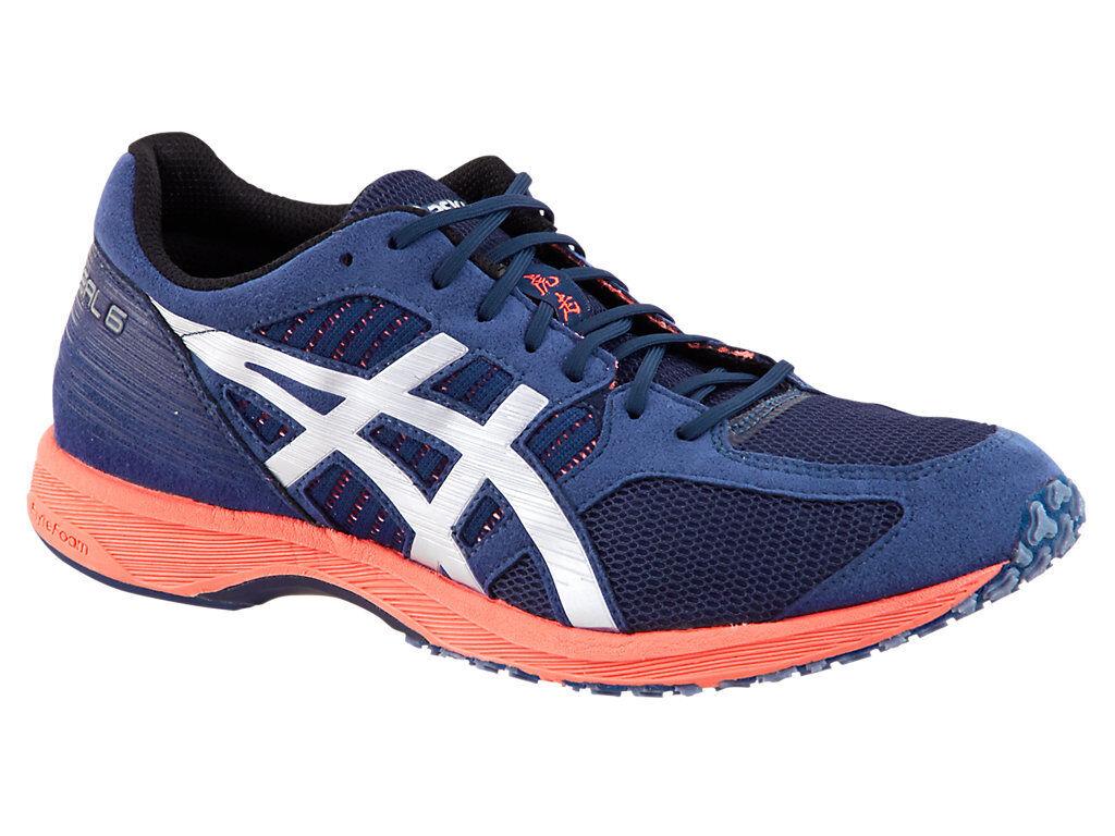 [asics] TARTHERZEAL 6 Indigo Blue Men's Tracking Marathon Shoes TJR291.4993 Free Tracking Men's 9844b1