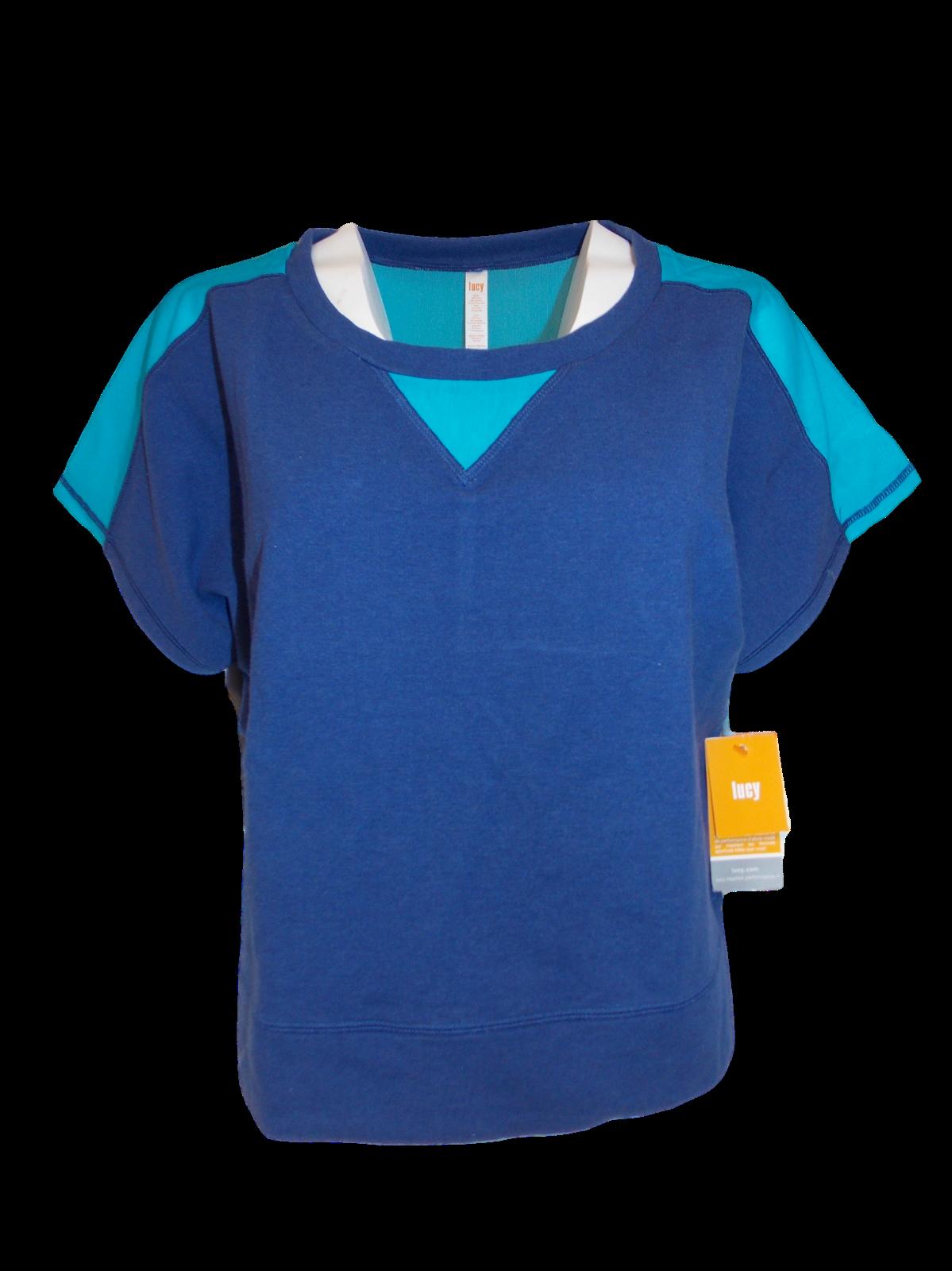 Lucy Damen Sonne Gruß Ultramarine Ultramarine Ultramarine Jumper Tee  Medium Blau Neu mit Etiketten 1804fa
