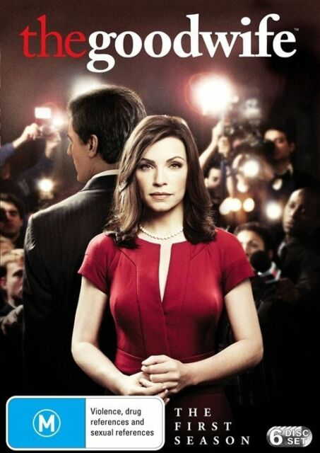 The Good Wife : Season 1 (DVD, 2010, 6-Disc Set)
