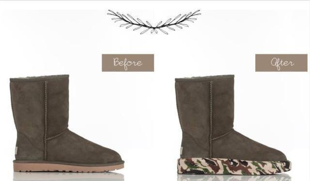 UGG, Bearpaw, Kirkland cipő Sole Cover cipzárral, különleges vásárlás!