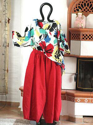 100% Vero Mexxoo Design Sina Lagenlook Lino Pantaloni Palloncino Rosso Xxl 52 54 (8408)- Promuovi La Produzione Di Fluidi Corporei E Saliva