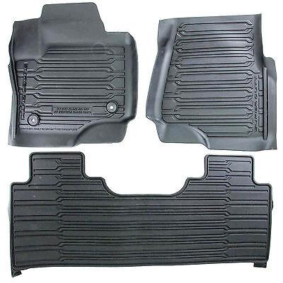 VINYL FLOORS OEM NEW 17-20 Ford Super Duty All Weather Floor Mats REGULAR CAB