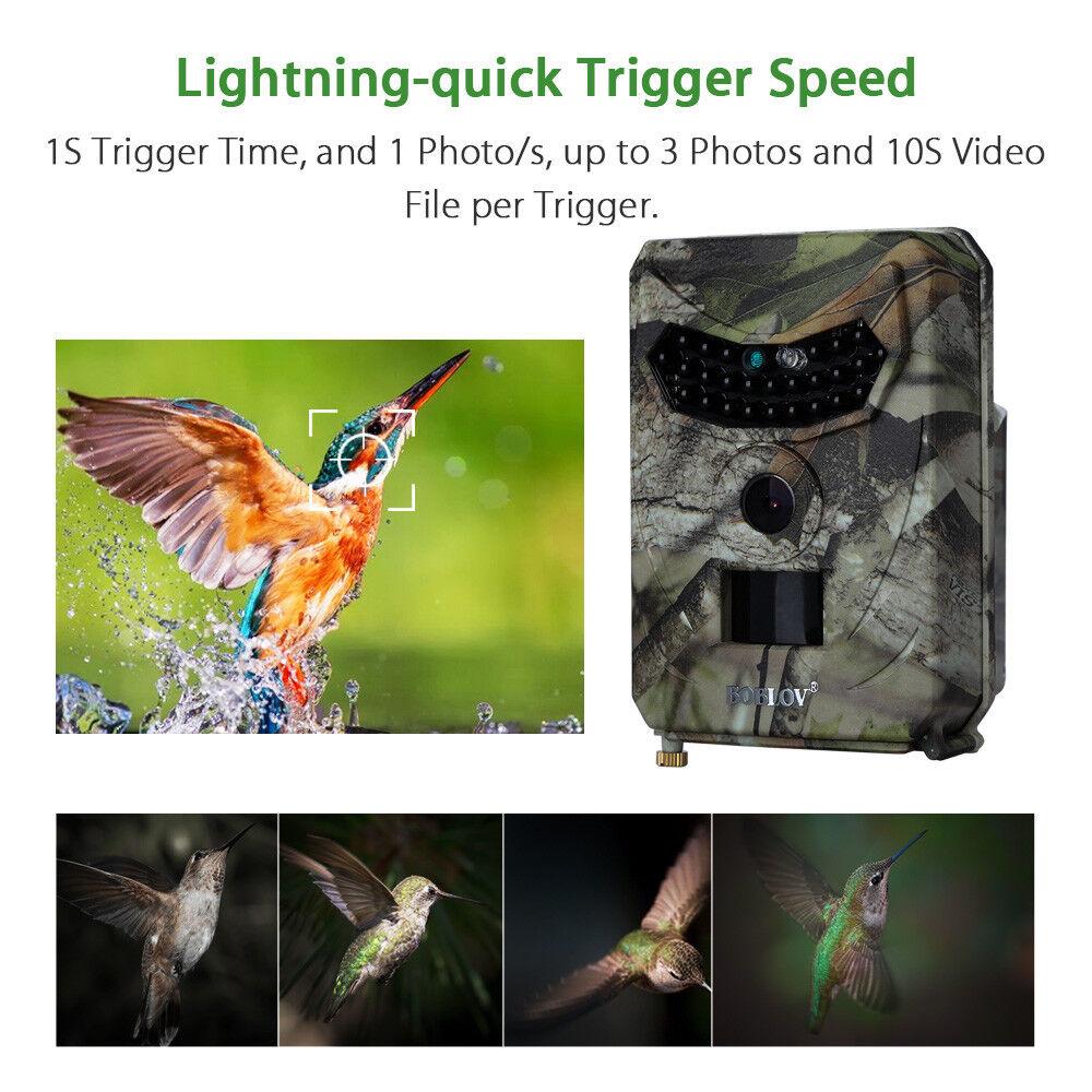 Trail Camera Home Farm Sicherheit Jagd Scouting Cam IR Nachtsicht Wasserdicht