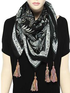 Colorful-Women-039-s-Soft-Long-Viscose-Scarf-Shawl-Fashion-Ladies-Scarves