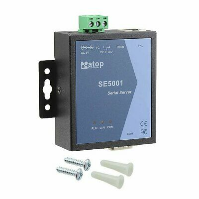 NEW Ethernet to RS-232//422//485 Modbus Gateway SE5001 Atop Technologies . DB