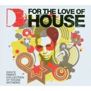 Various-For-the-Love-of-house-vol-4-3-CD-NUOVO
