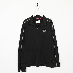 Vintage-PUMA-Small-Logo-Tracksuit-Top-Jacket-Black-Medium-M-Grade-B-Zip-Pull