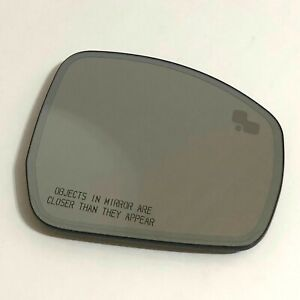 2013-2016 Ford Fusion Right Passenger Side View Mirror Glass w// Blind Spot OEM