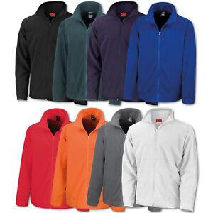 Details zu Herren Fleecejacke Result Fleece Jacke Übergangsjacke Sweatjacke Outdoor Warm
