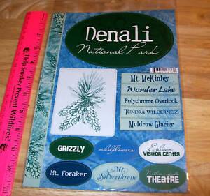 Denali-National-Park-Alaska-Stickers-15-different-Great-set-for-Scrapbook