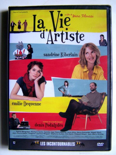 LA VIE D' ARTISTE - MARC FITOUSSI - DVD NEUF ET EMBALLE -