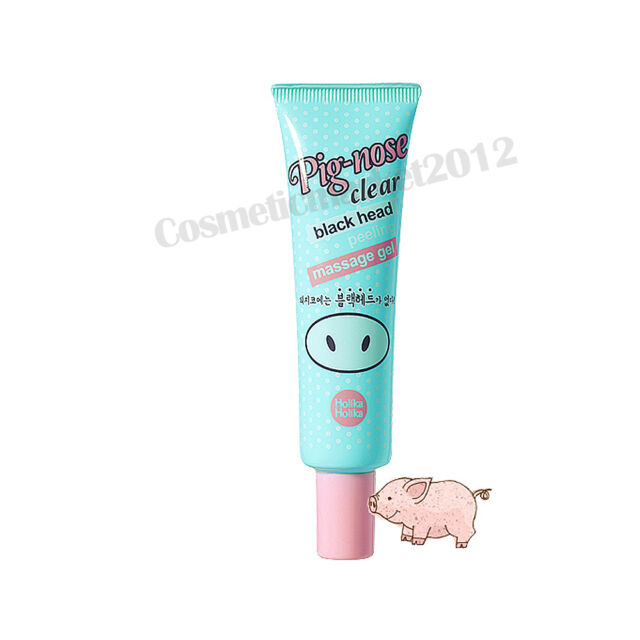 Holika Holika Pig-Nose Clear Black Head Peeling Massage Gel 30ml Free gifts