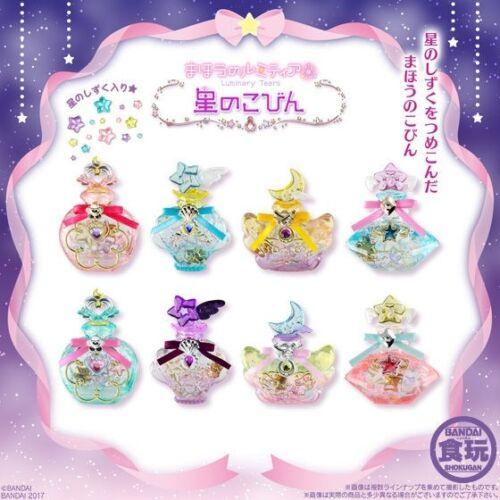 BANDAI Magic Lumitea Luminary Tears Small bottle of stars 8pcs SET Candy toy