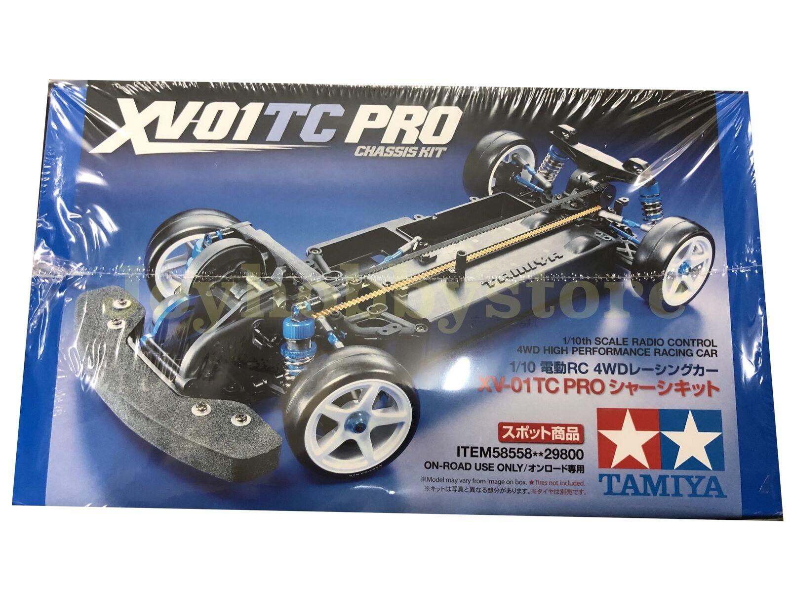 Tamiya 58558 1 10 RC XV-01 PRO TOURING CAR XV-01TC On Road Kit