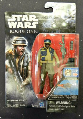 Star Wars Rogue One 3.75-Inch Figure Lieutenant Sefla Wave 4