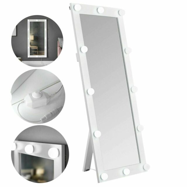 Luxury Large Hollywood Mirror Wall, Luxury Makeup Mirror With Lights