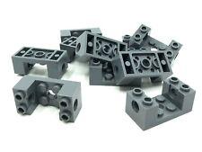 Lego 4x Technic Brick Brick 2x2 Rotating Knuckle Ball Dark Grey 48171 New