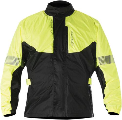 Flo Yellow//Black Choose Size Alpinestars HURRICANE Motorcycle Rain Jacket