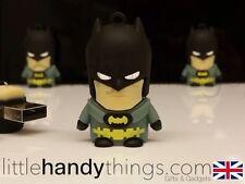 Cute Cartoon Batman USB 8GB Flash Drive Memory Pen/Stick Gift Key Ring