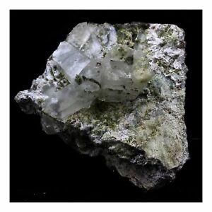 Quartz-Epidote-Byssolite-594-0-Ct-Chamrousse-Belledonne-Isere-France