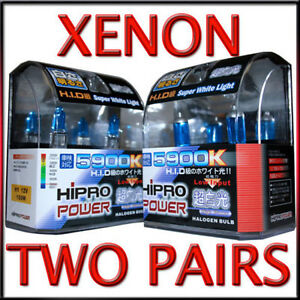 9005-amp-H1-5900K-100W-XENON-HID-HALOGEN-HEADLIGHT-BULBS-LOW-HIGH-BEAM-COMBO