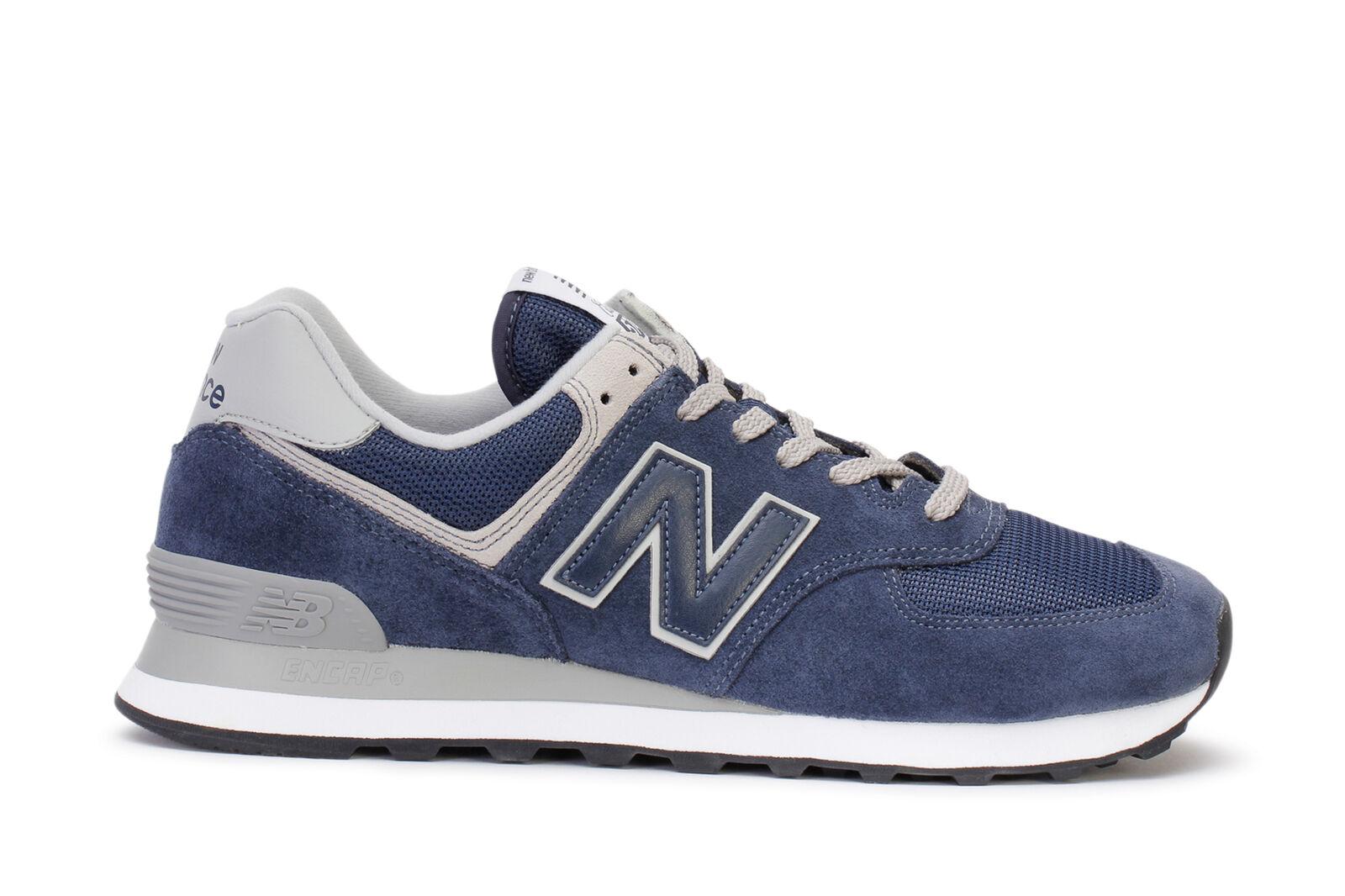 New Balance hombres' Classic s corriendo zapatillas 574 Classic hombres' Navy ml574egn a53f96