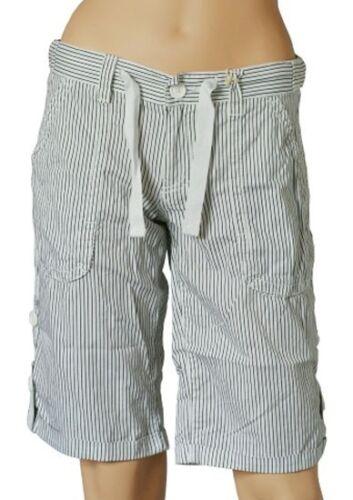 8, 10, 12, 14, blancs O/'NEILL Napa Mesdames Blanc Rayé walkshorts Shorts BNWT
