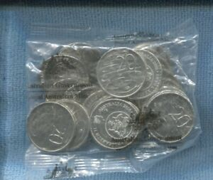 2016 Changeover Change Over RAM Mint Bag of 20 Twenty Cent UNC Coins Sachet