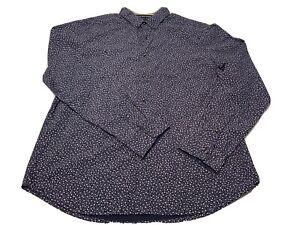 NWT-Cactus-Man-Ricky-Singh-XL-Long-Sleeve-Button-Down-Slim-Fit-Shirt